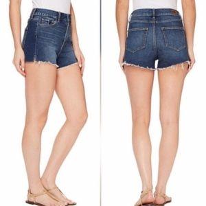 Paige Margot High Waisted Cutoff Destructed Shorts